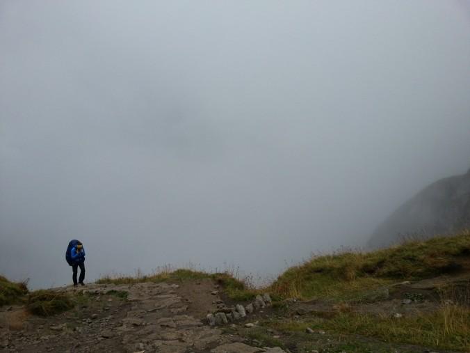 Ceļā uz Giewont virsotni