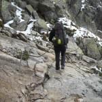 Ceļā uz Šwinica virsotni