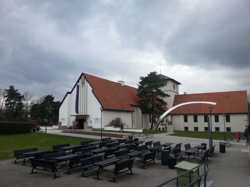Vikingu muzejs no ārpuses