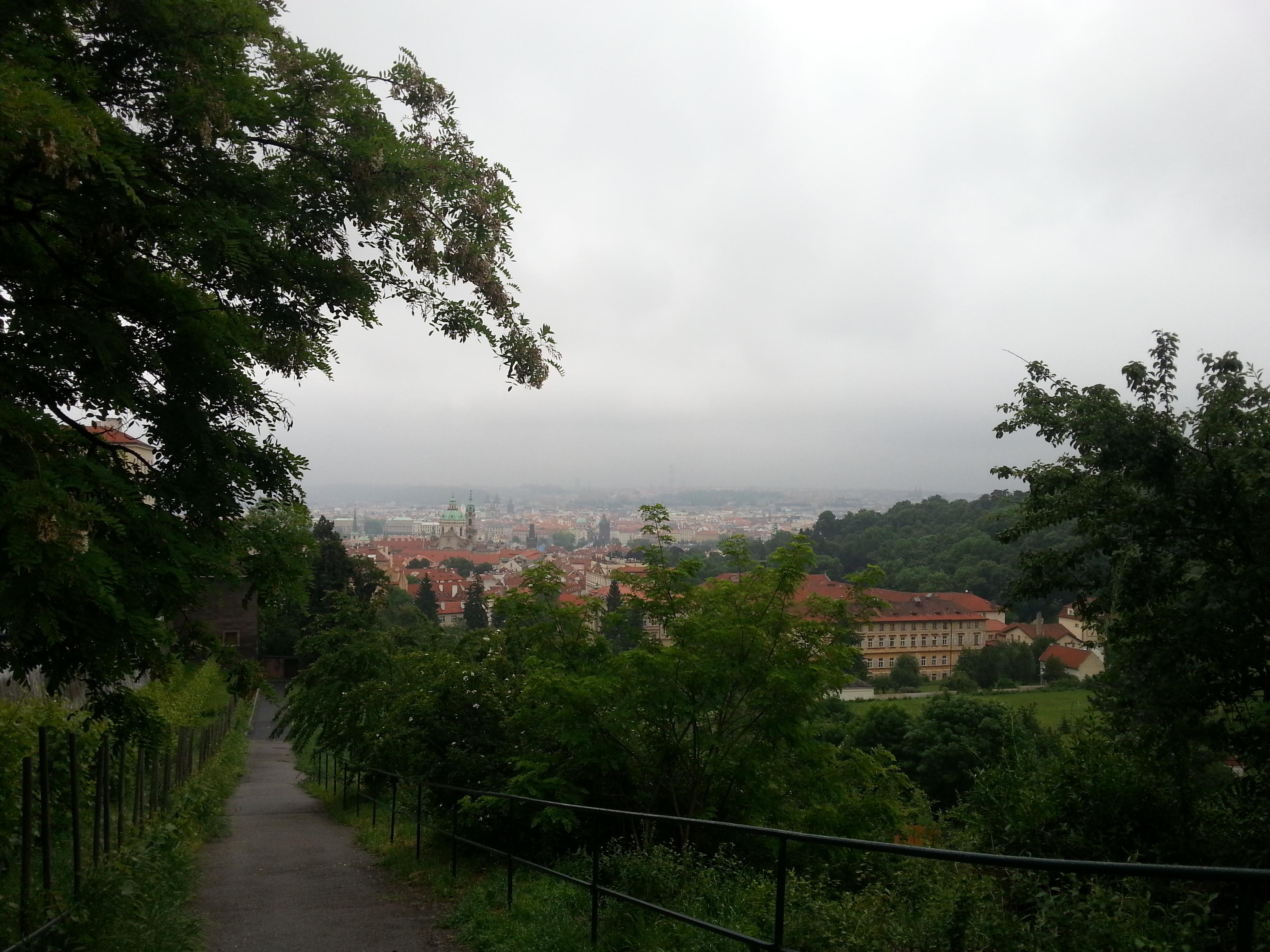 Prāgas panorama