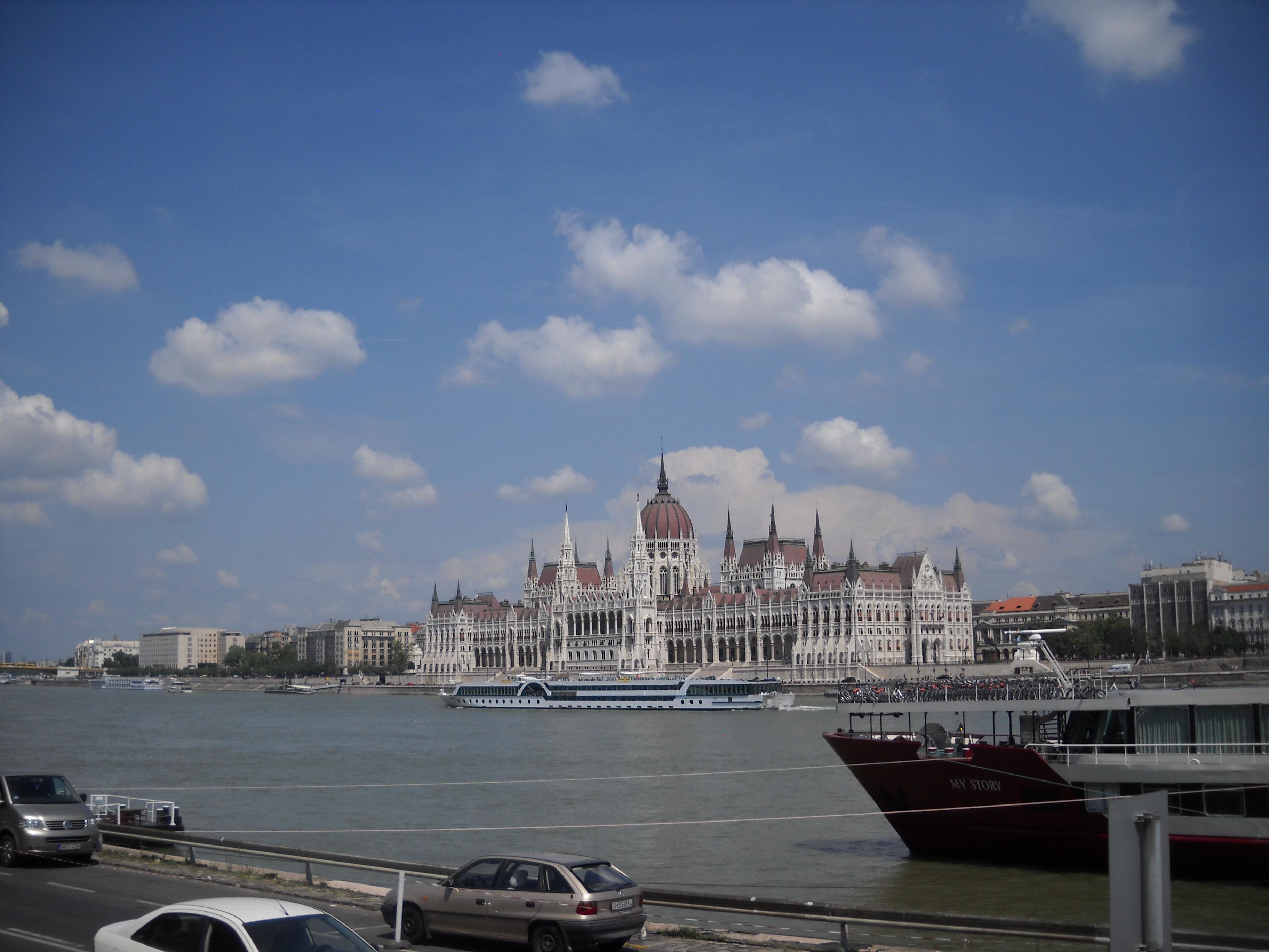 Ungārijas parlamenta ēka